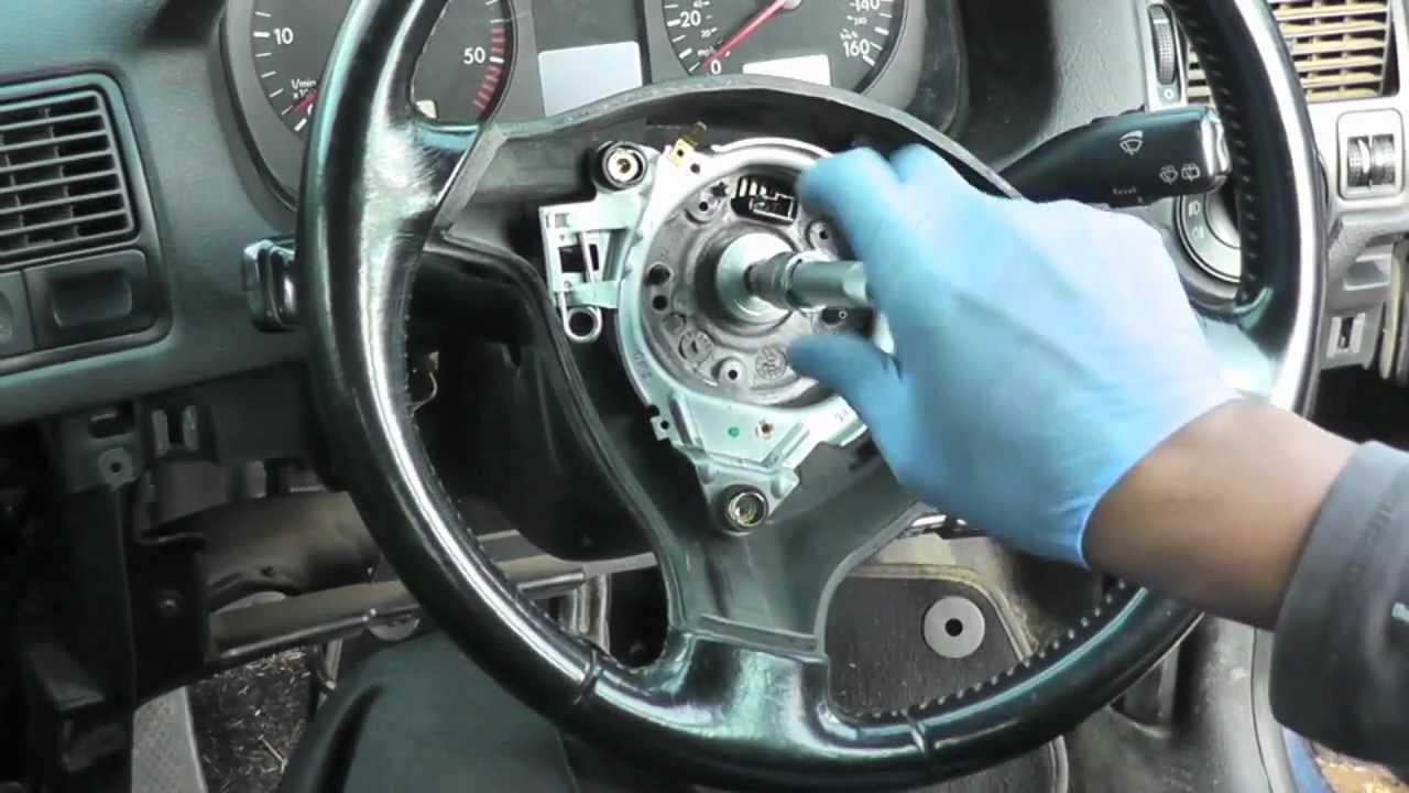 Volkswagen Golf Jetta Steering Wheel Amp Airbag Removal