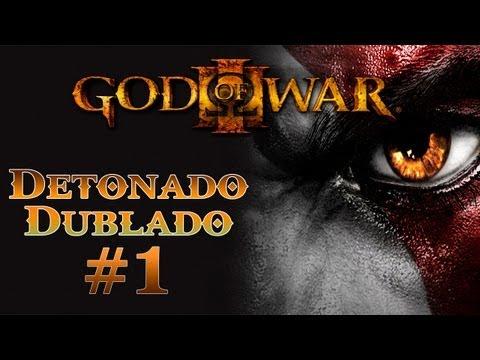 God of War 3 Detonado Dublado em Portugu�s do Brasil - ? Parte 1 - In�cio �pico?
