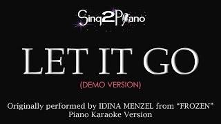 """Frozen's """"Let It Go"""" (Piano Karaoke Version) Idina Menzel"""