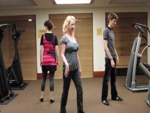 Michael Jackson Beat It Dance Tutorial Part 1 of 4 (instructions)