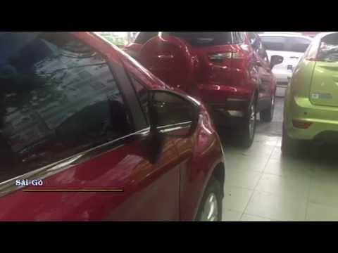 Gương gập điện gắn được cho tất cả các dòng xe Ford