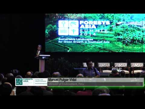 Forests Asia Summit 2014: Plenary Speech, Manuel Pulgar Vidal (Minister of Environment, Peru)