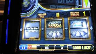 Diamond Heat U Spin Slot Bonus-Max Bet-Bally Technologies