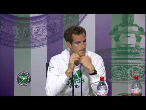 Andy Murray happy to finish the job quickly - Wimbledon 2014