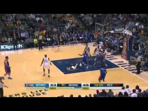 Detroit Pistons vs Indiana Pacers   December 16  2013   Full Game Highlights   NBA 2013 14 Season