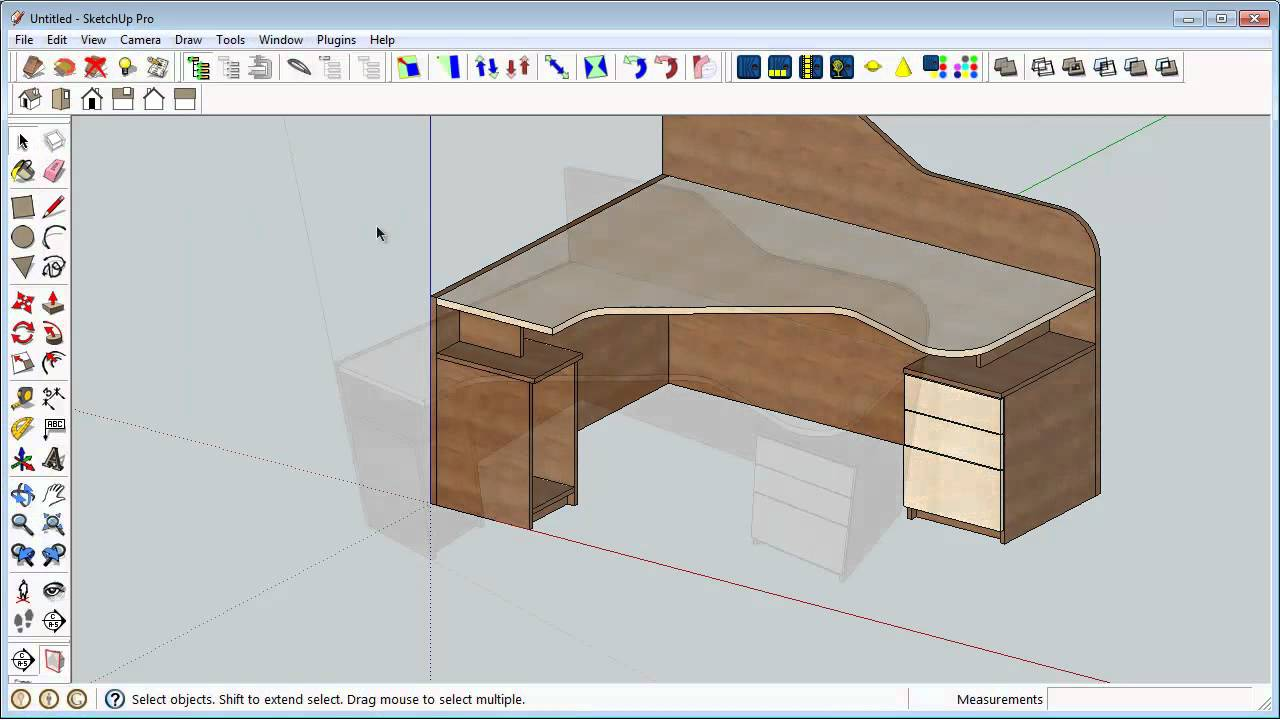 Autodesk Inventor 3d Model Usage In Sketchup For Interior Design Youtube