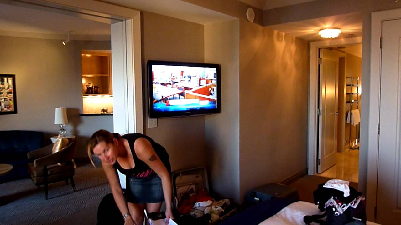 the cosmopolitan las vegas terrace suite review youtube