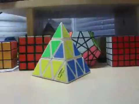 Pyraminx Stopmotion