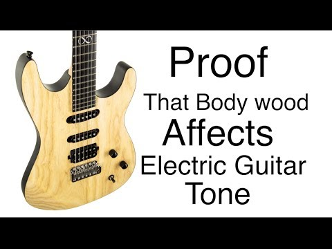 "PROOF - Wood Affects Electric Guitar Tone - Chapman ""Special Run"" Swamp Ash ML-1"
