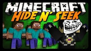 Minecraft: THE GREAT ESCAPE - Hide N' Seek! (Mini-Game)