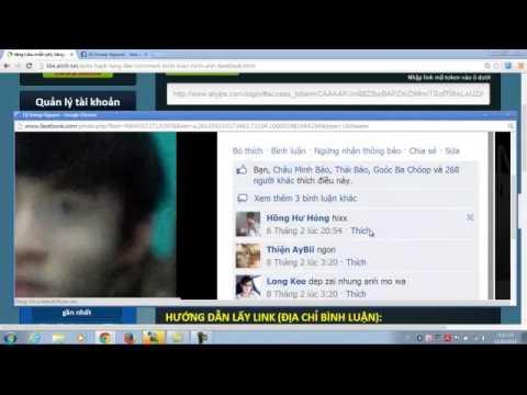 Video hướng dẫn hack auto tăng like - bình luận facebook người Việt 100% tại like.alo9.net