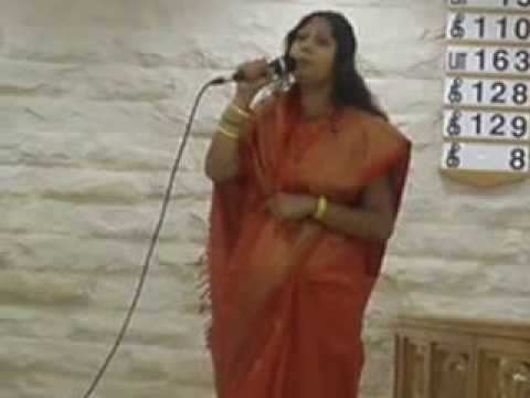 Tamil Christian song by sajini thiagaraj in holy trinity church dubai
