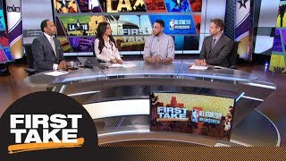 Stephen A. and Max interview Philadelphia 76ers' Ben Simmons | First Take | ESPN