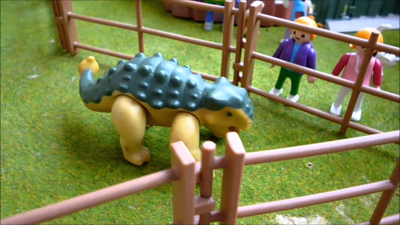 Playmobil dino park youtube - Dinosaur playmobile ...