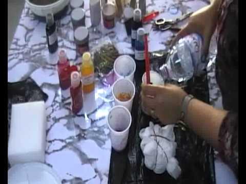 Technique de peinture diamond sur soie 3 youtube for Technique de peinture sur soie en video