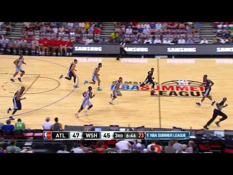Summer League:Atlanta Hawks vs Washington Wizards