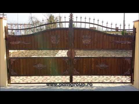 Fier Forjat si Lemn - Porti si Garduri