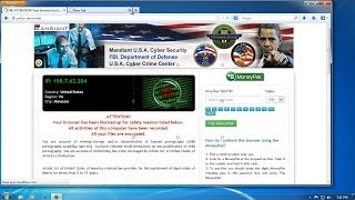 How To Remove Mandiant U.S.A Cyber Security Popup From