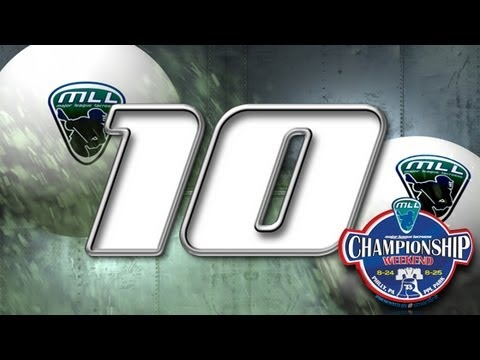 MLL Top 10 Plays of Championship Weekend