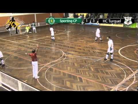 Hoquei Patins :: Sporting - 5 Turquel - 3 de 2011/2012 II Divisão Zona Sul
