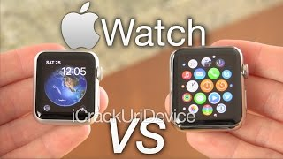 Apple Watch Sport Or Steel: 38mm Vs 42mm Hands On & Review - Duration: 3:25.
