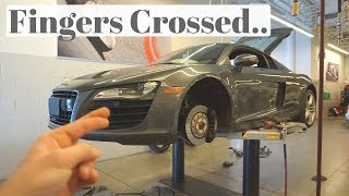UH OH! MY AUDI R8 HAS A PROBLEM...