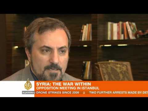 Syria's opposition leaders meet in Istanbul