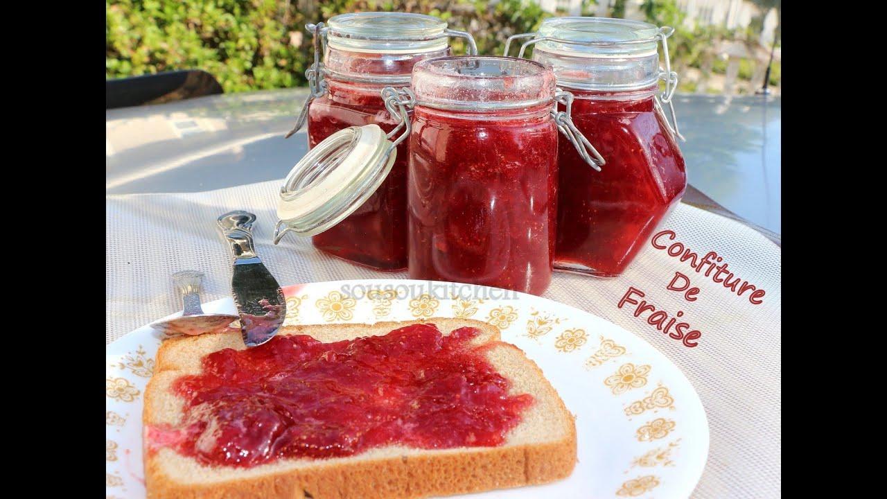 Confiture de fraise maison strawberry jam - Confiture de fraise maison ...