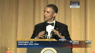 President Obama: White House Correspondents Dinner, 2013