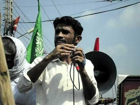 2010 youm al quds rally in matli by Asgharia Organization Pakistan 5