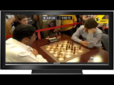 Viswanathan Anand vs Magnus Carlsen - Blitz Match at 200% Clip Speed!!!