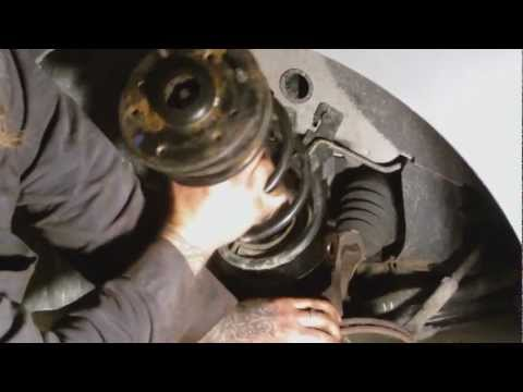 How to replace a Strut spring from start to finish