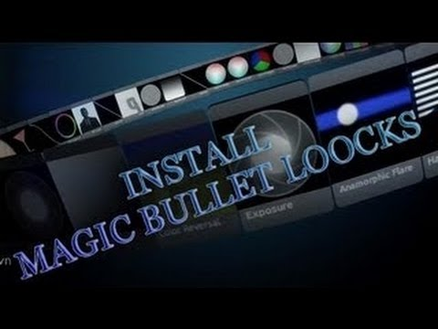 Как установить Magic Bullet Looks Sone vegas Pro 8,9,10,11.