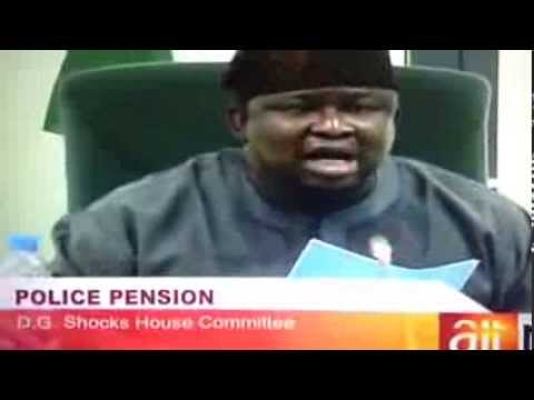 24 Billion Naira Nigeria Police Pension Fund Missing/Stolen.