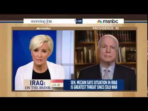 John McCain: We Won Iraq, Obama Lost It