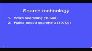 E-Discovery- Searching