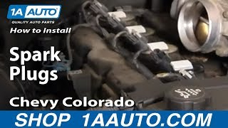 How To Install Replace Spark Plugs Chevy Colorado 1AAuto
