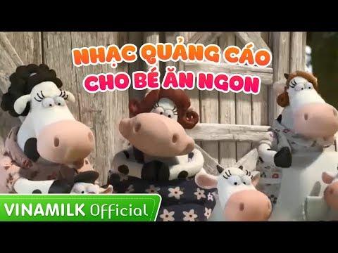 Vinamilk - Clip nhạc quảng cáo cho trẻ biếng ăn giúp bé yêu ăn ngon - Mắt sáng hơn mèo