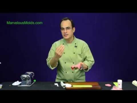 Marvelous Molds Medium Hydrangea silicone Petalear sugarcraft icing mould
