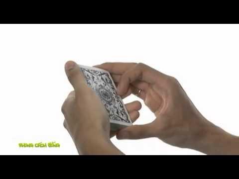 Học ảo thuật  Kỹ thuật bắn bài lên không trung