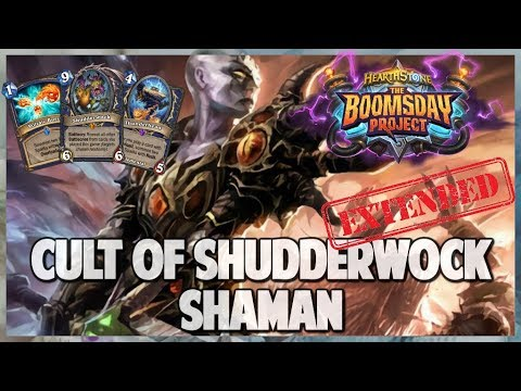 Cult of Shudderwock Shaman | Extended Gameplay | Hearthstone | Boomsday Project