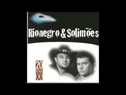 Rio Negro e Solimões - sucessos - cd Millennium
