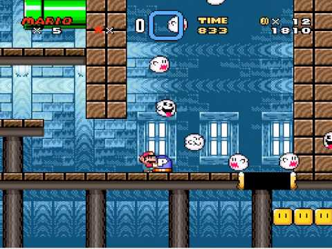 Mario Ghost House Theme Kaizo Mario Ghost House