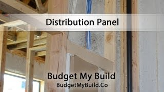 [The Location of Your Distribution Panel - BudgetMyBuild.co] Video