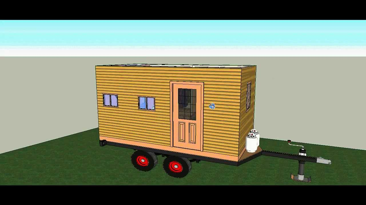 studio cabin on wheels by solarcabin youtube. Black Bedroom Furniture Sets. Home Design Ideas