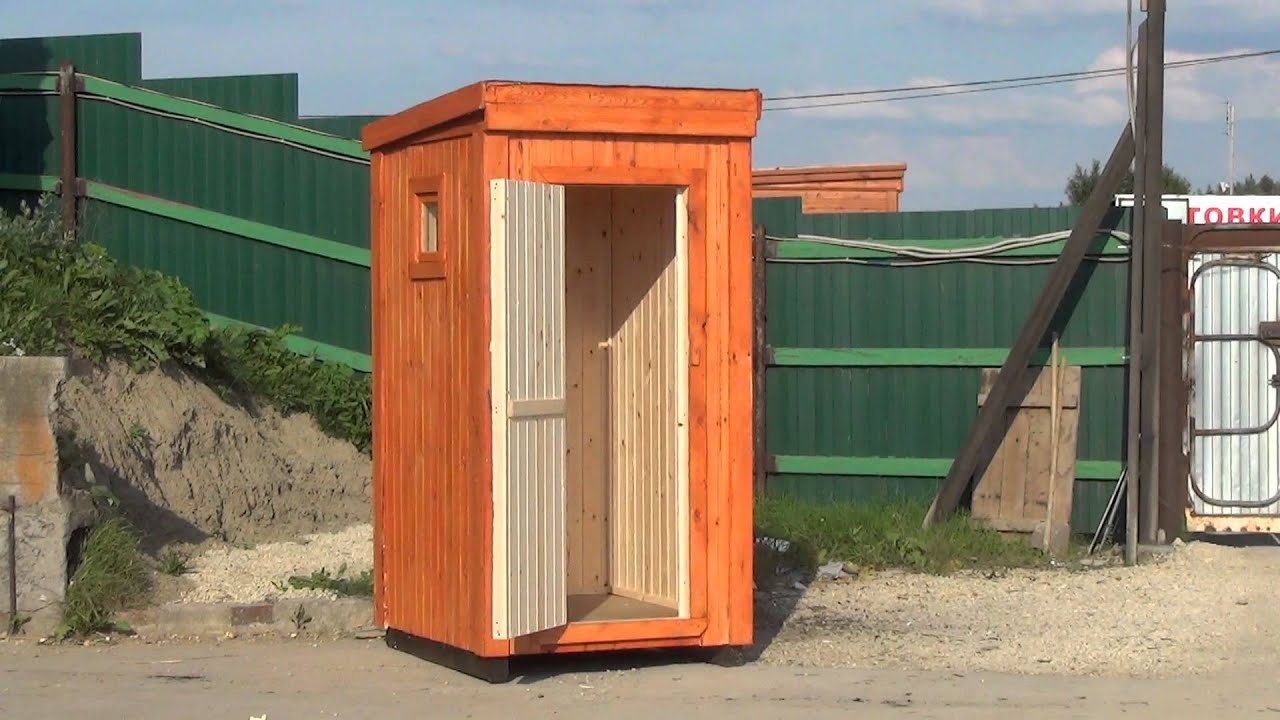 Как самому сделать туалетную кабину