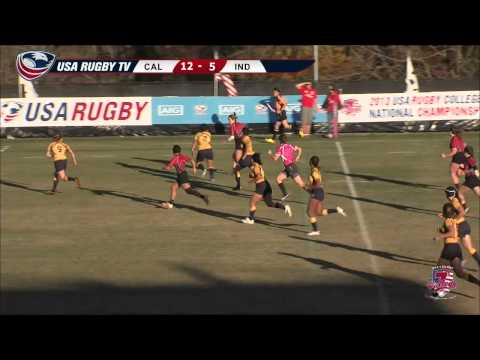2013 USA Rugby College 7s National Championship: Cal vs. Indiana