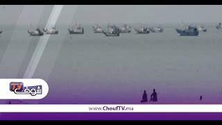 مثير و بالفيديو..صيادة معتاصمين وسط البحر شمال المملكة | خارج البلاطو