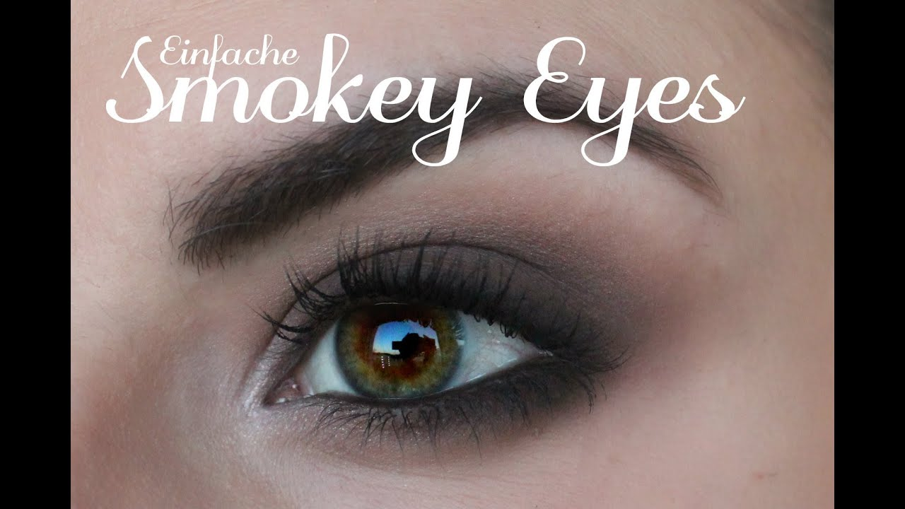 einfache smokey eyes schminken auch f r schlupflieder kleine augen lindasbeautyworld youtube. Black Bedroom Furniture Sets. Home Design Ideas