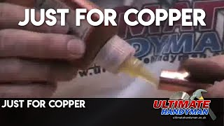 Just for copper | solderless copper bonding